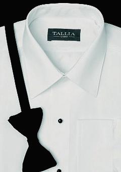 White microfiber shirt