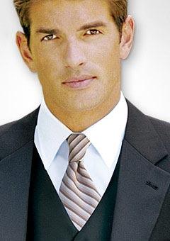 Marquis Stripe Necktie