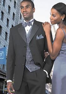three-button tuxedo