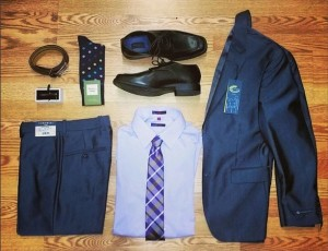 suit styled