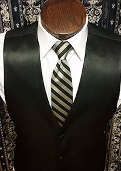 Allure Stripe Necktie