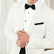 Slim-Fit Ivory Dinner Jacket