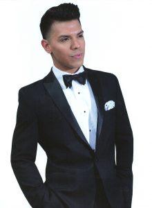Slim-fit peak tuxedo