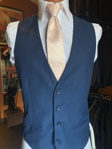 Allure Men blush stripe necktie