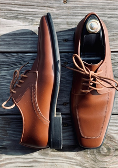 Cognac Dress Shoe