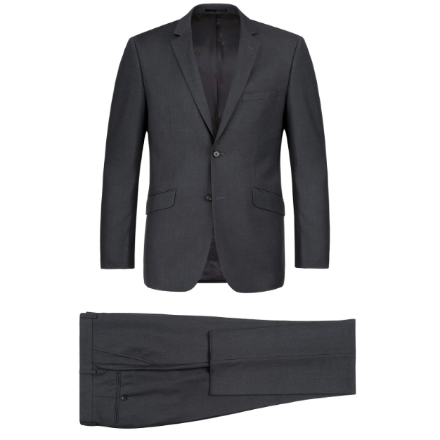Classic Charcoal Suit