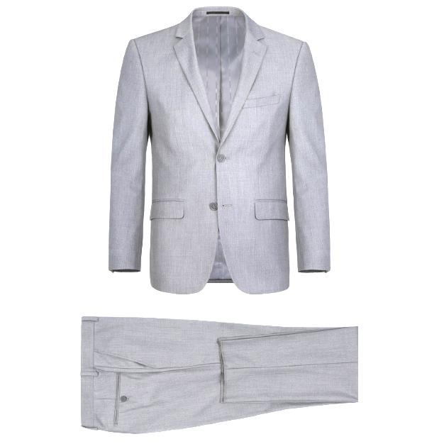 Heather Gray Suit