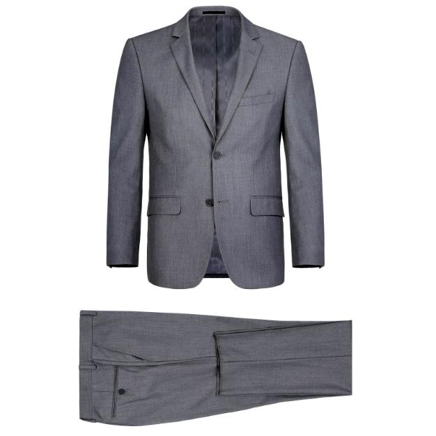 Banker's Gray Suit